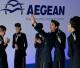 Die griechische Fluglinie Aegean ist die 5. beste Fluggesellschaft der Welt im Jahre 2018
